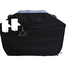 Grill Cover – garden home Up to 64″ Wide, Water Resistant, Air Vents, Padded Handles ...