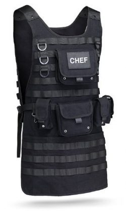 Tactical Chef Apron by ThinkGeek