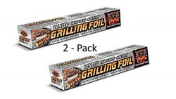 Grilling Foil a Vented Barbecue Accessory with Holes Specifically for Grilling and Steaming, Non ...