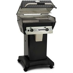 Broilmaster R3bn Infrared Combination Natural Gas Grill On Black Cart