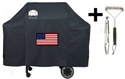 Texas Grill Covers 7573 | 7106 Premium Cover for Weber Spirit 200 / 300 and Genesis Silver A / B ...