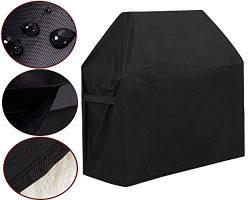 GoProver BBQ Gas Grill Cover, 44inch X 60inch 600D Heavy Duty BBQ Gas Grill Cover for Genesis E  ...