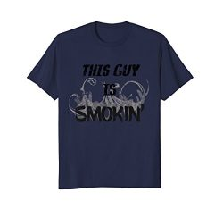 This Guy Is Smokin' – Hot Guy Chef's Vintage-Look T-Shirt