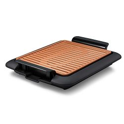 Gotham Steel Smokeless Electric Grill and Griddle, Portable and Nonstick As Seen On TV