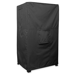 KHOMO GEAR – PANTHER Series – Heavy Duty Outdoor Black Smoker Cover Protector 17&#82 ...