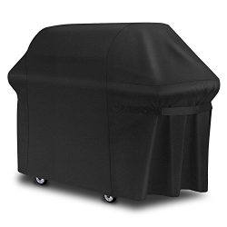 Fylina 7107 Grill Cover(44in×60in), Premium Water/Wind Resistant 600D Heavy Duty BBQ Grill Cover ...