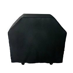 Nextcover Universal Gas Grill Cover, 64 inch 600D Canvas Heavy Duty Waterproof Fade Resistant BB ...