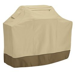 Classic Accessories Veranda Grill Cover – Durable BBQ Cover with Heavy-Duty Weather Resist ...