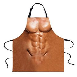 Fivebop Sexy Apron Novelty Naked Men Women Cooking Grilling Naughty Apron Funny Creative Thanksg ...
