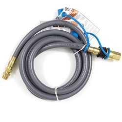 Blaze Natural Gas Hose and Quick Disconnect (BLZ-NG-HOSE), 10-foot
