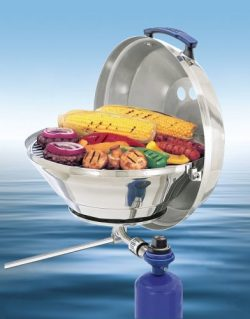 Magma Products, A10-205 Marine Kettle A10-205, Gas Grill, Original Size 15 Inches, Stainless Ste ...