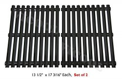 Hongso PCI812 Porcelain Steel Cooking Grid/Cooking Grates Replacement for Brinkmann, Grill Maste ...