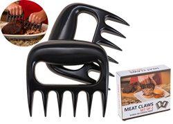 Pulled Pork Shredder Claws – STRONGEST BBQ MEAT FORKS – Shredding Handling & Car ...