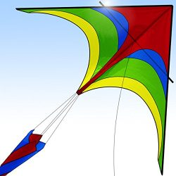 [New 2018 Version] Easy Flyer Kite for Kids and Adults, Boys & Girls – Kite Flying Out ...