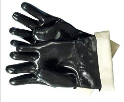 Artisan Griller 12″ Heat Resistant Insulated Neoprene Gloves For Smokers, Fryers & Gri ...