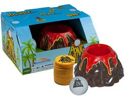 PongCano Volcano Family Board Game – Ball Bounce Fun for All Ages, Kids and Adults 8 Years ...