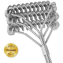 """Grill Brush, Poseca BBQ Cleaning Tools 18"""" Bristle Free Barbecue & Grilling Accessorie ..."""