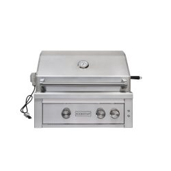 EdgeStar GRL300IBNG 60000 BTU 30 Inch Wide Natural Gas Built-In Grill with Rotisserie and LED Li ...