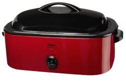 Oster CKSTROSMK18 Smoker Roaster Oven, 16-Quart