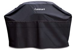 Cuisinart CGC-60B Heavy-Duty Barbecue Grill Cover, 60″, Black
