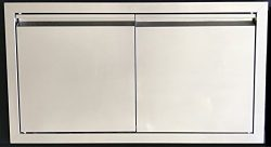 38″ DOUBLE WALLED ACCESS DOOR OUTDOOR KITCHEN / BBQ ISLAND 304 STAINLESS STEEL