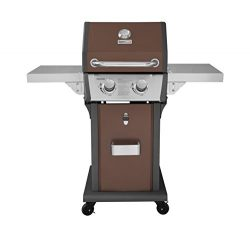 Royal Gourmet 2 Burner Patio Propane Gas Grill, Red Copper