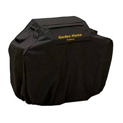 Grill Cover – garden home Up to 70″ Wide, Water Resistant, Air Vents, Padded Handles ...