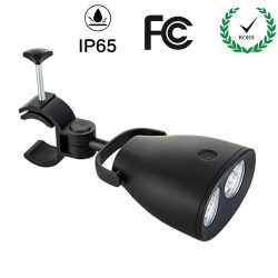 Tomods Barbecue LED Grill Light with 10pcs Bright LED and Adjustable Handle Mount-IP65 Waterproo ...