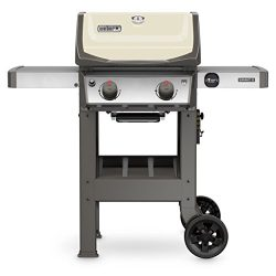 Weber 44060001 Spirit II E-210 Gas Grill LP Outdoor, Ivory