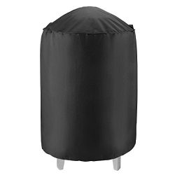 Unicook Heavy Duty Waterproof Dome Smoker Cover, 30″Dia by 36″H,Kettle Grill Cover,  ...