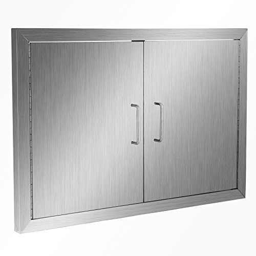 Outdoor Kitchen Access Doors: Happybuy BBQ Access Door Double Wall Construction Cutout
