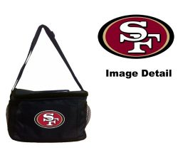 San Francisco 49ers NFL Team Logo 6-Sports Drink Beer Water Soda Beverage Can Insulated Picnic O ...