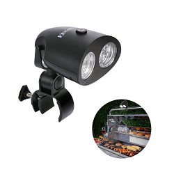MARNUR Barbecue Grill Light with Flexible Illuminating Angle and Optional Brightness Levels for  ...