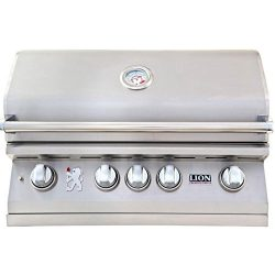 Lion 32-Inch Built-In Gas Grill – L75000 Stainless Steel Natural Gas