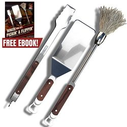 BBQ Set – Premium Grilling Set Timelessly Crafted Utensils – Stainless Steel Grilling Acce ...