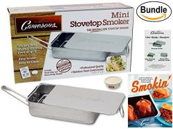 Cameron's Stovetop Smoker – The Original Gourmet Mini Stainless Steel Smoker w/ Wood ...