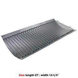Uniflasy Grill Repair Replacement Part Aluminized Steel Ash Pan for Chargriller Charcoal Grills  ...