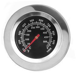 "DozyAnt 3"" Stainless Steel BBQ Charcoal Grill Pit Wood Smoker High Temperature Gauge Thermometer ..."