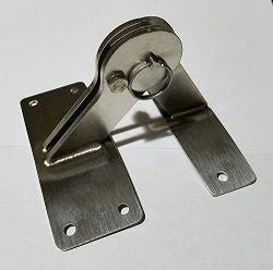 Weber KETTLE Lid HINGE Kit, 22.5 26.75 Smoker Grill One touch BBQ stainless quick release