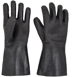 BBQ Gloves – Smoker, Grill, and Cooking Gloves. For Handling Hot Food Right On Your Fryer  ...