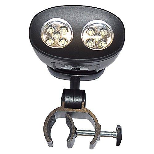 Best BBQ GRILL LIGHT | Grilling Accessories | Waterproof | Universal Metal Handle Mount | 10 Sup ...