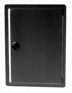 EasyChef Vertical Black Door 17″x23″ ( For Cut-out 14″x20″ in BBQ Islands)