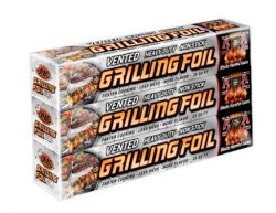 Grilling Foil – Barbecue Accessory Vented with Holes Specifically for Grilling and Steamin ...