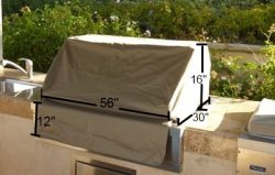 BBQ built-in grill cover up to 56″