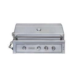 EdgeStar GRL420IBBNG 89000 BTU 42 Inch Wide Natural Gas Built-In Grill with Rotisserie and LED L ...