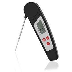Digital Meat Thermometers Instant Read Thermometer Cooking Thermometer IPX55 Waterproof Food The ...
