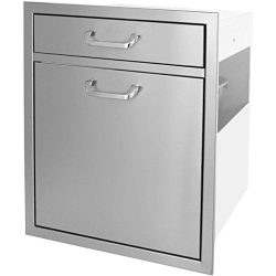 BBQ Island 260 SINGLE DRAWER/ TRASH RECYCLE ROLLOUT