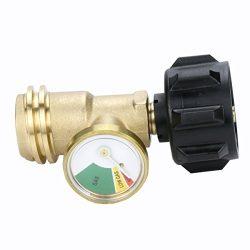 Gasland Propane Tank Gauge/Leak Detector Gas Pressure Meter Universal ACME/QCC1/Type1 connection ...