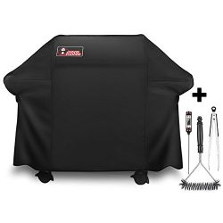 Kingkong Gas Grill Cover 7553 | 7107 Cover for Weber Genesis E and S Series Gas Grills Includes  ...