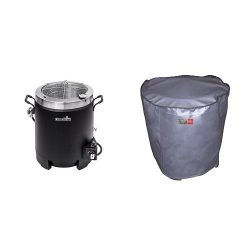 Char-Broil Big Easy Oil-less Turkey Fryer with Char-Broil The Big Easy Turkey Fryer Cover – ...